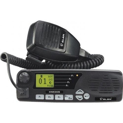 Statie radio VHF Midland Alan HM135S cu 5 tonuri pt TAXI, 135 - 174 Mhz Cod G1022