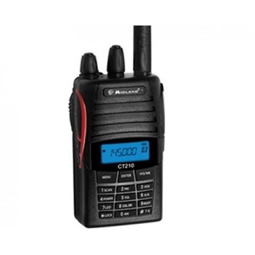 Statie radio VHF portabila Midland CT210, 136-174MHz Cod C841.01