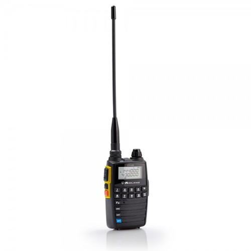 Statie radio VHF/UHF portabila Midland CT510 dual band, 136-174 si 400-470 MHz, Cod C1065