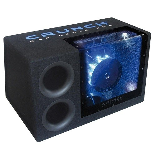 Subwoofer auto pasiv cu incinta Bandpass Crunch CRB-500, 500W RMS