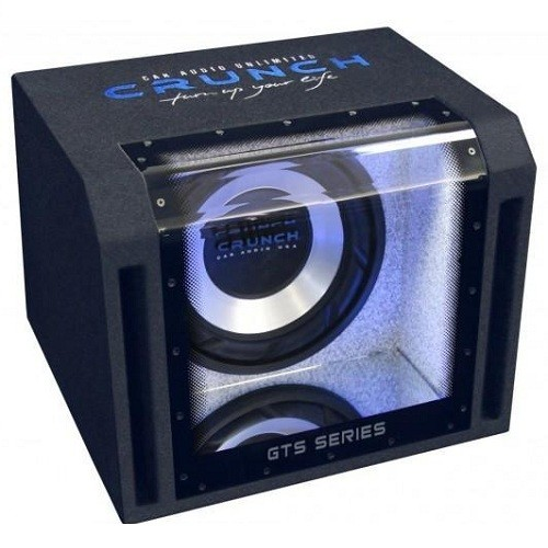 Subwoofer auto pasiv cu incinta Bandpass Crunch GTS-350, 350W RMS