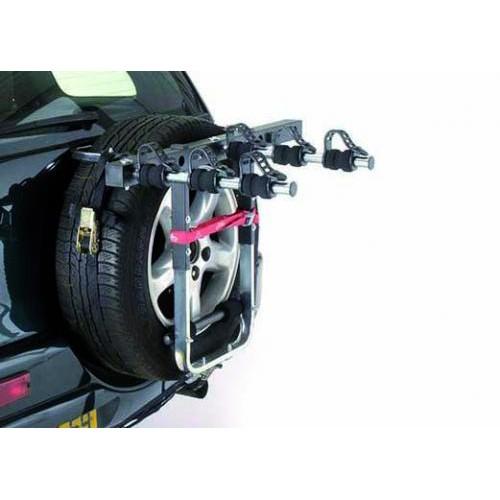Suport 3 Biciclete cu prindere pe Roata de Rezerva - MOTTEZ 4x4
