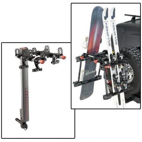 Suport COMBO Biciclete - Schiuri / Placi pt. Jeep Wranglers - YAKIMA